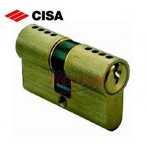 Cilindro sagomato cisa per serrature con foro yale 53 mm for Estrarre chiave rotta da cilindro