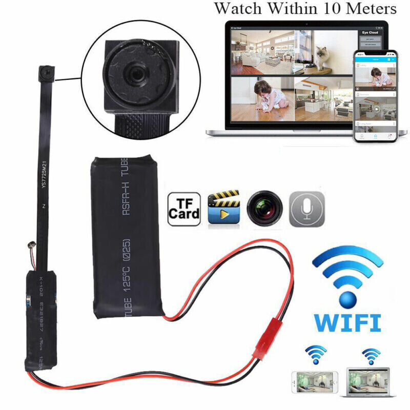 Mini Wireless WIFI Camera DIY DV DVR Nanny Camera HD 1080P P