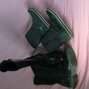 Fashion boots youth size 4
