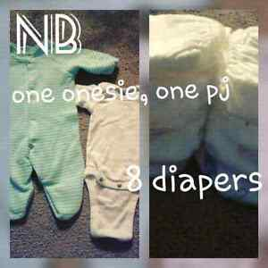 NB-3 months clothing lot