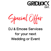 DJ & Emcee Services for your wedding or next event