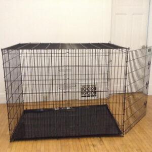 extra - extra Large gigantic Dog Cage - 52 length x 42 high x 32