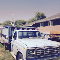 GREAT TRUCK - 1980 FORD F350 DUMP TRUCK - 58000 orig KMS