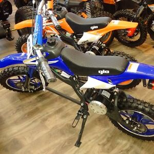 NEW!!! GIO ONYX 500W 36V DIRT BIKE!!! AWESOME STARTER BIKE!!!