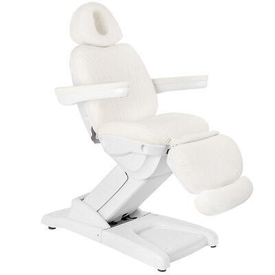 Kosmetikliege Kosmetikstuhl Massageliege Behandlungsliege elektrisch 4 Motoren