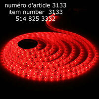 5M 500CM 3528 Red 300 LED SMD Flexible Light non Waterproof DC