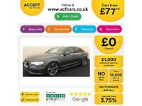 Grey AUDI A6 SALOON 2.0 3.0 TDI Diesel SPORT S LINE FROM £77 PER WEEK!