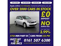 Volkswagen Golf S Tsi Bluemotion Technology 1.4 Manual Petrol GOOD / BAD CREDIT