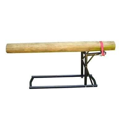 Heavy Duty Log Saw Horse Wood Saw Cutting Bench Branch Timber Holder Base New