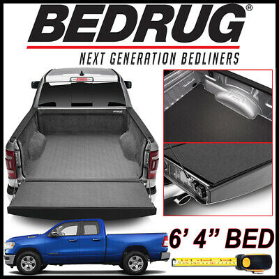 """BEDRUG IMPACT Liner Bed Mat fits 2019 Dodge Ram 1500 NEW BODY with 6'4"""" BED"""