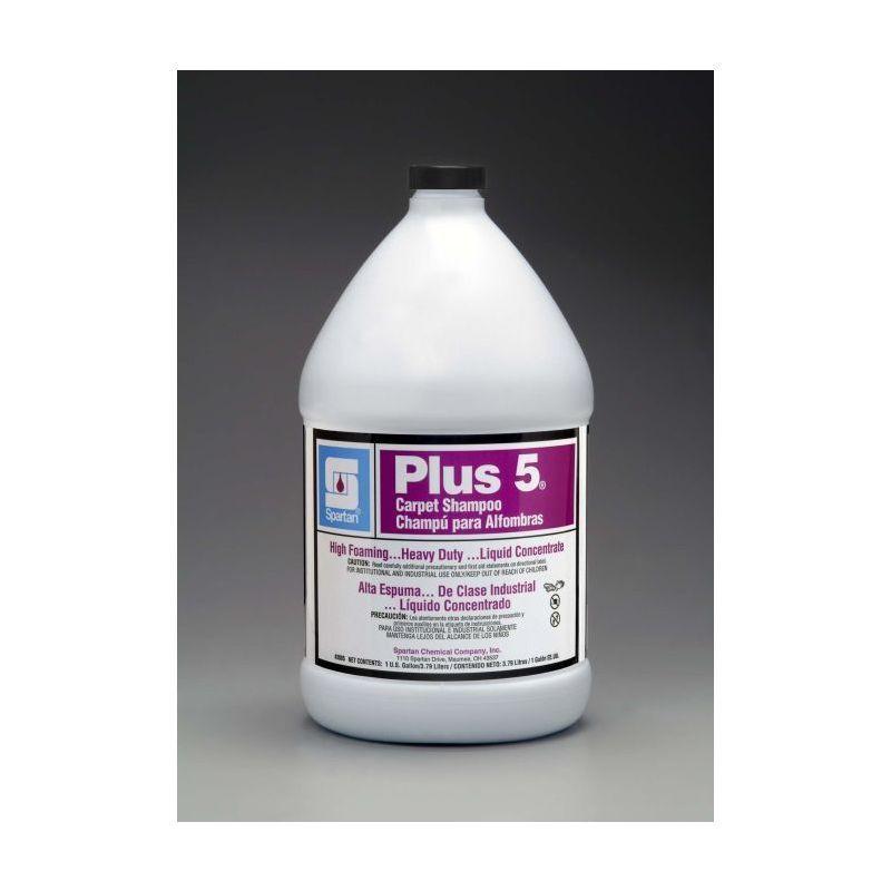 Spartan Contempo Plus-5 Heavy-Duty Carpet Cleaner, Gallons, 4 Per Case