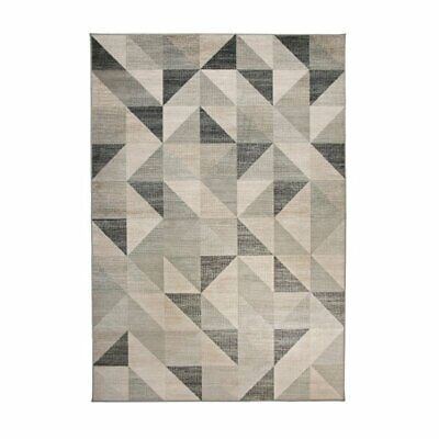 Abacasa Sonoma Colburn Silver-Grey-Med. Grey-White 8x11 Area Rug