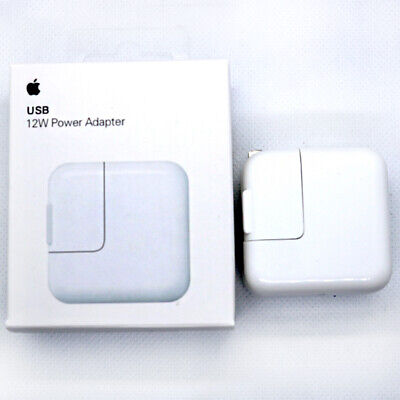 Genuine OEM Apple A1401 12W USB Wall Charger Power Adapter For iPhone iPad iPod