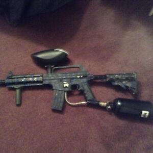 Tip man paintball gun