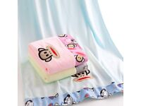 Microfibre Baby Boys Girls Bath Face Towel Absorbent Quick Drying 160 x 70cm