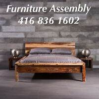 Furniture Assembly-Curtain install-handyman 416-836-1602