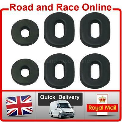 Set Of 6 Honda XL100 - XL125 - TL125 - CL100 - CL200 Rubber Side Panel Grommets