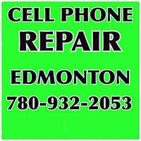 CELL PHONE REPAIR, open Monday 10am - 5pm
