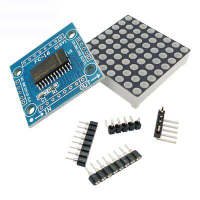 Max7219 Led 8x8 Dot Matrix Display Module Mcu Control New