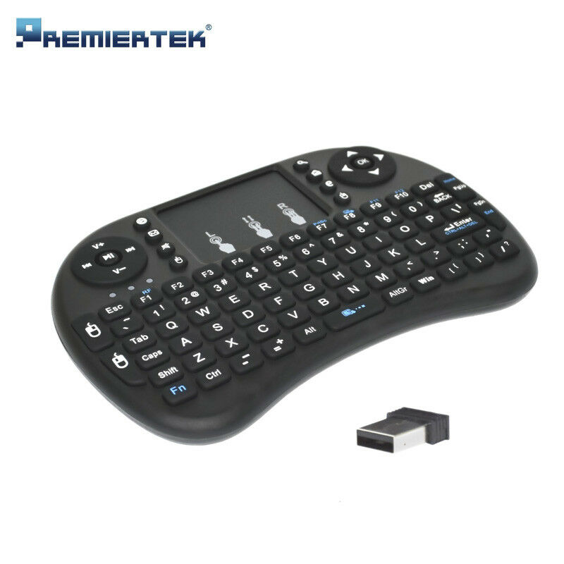 Mini I8 2.4GHz Wireless Keyboard with Touchpad for Smart TV PC Android Wireless Keyboard