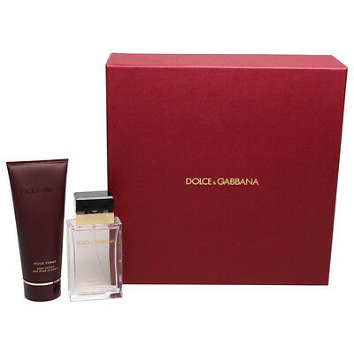 New Dolce And Gabana Pour Femme 50ml Eau De Parfum Gift Set For Women