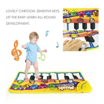 Baby Toys Music Keyboard Piano Play Mat IQ Development Educational Musical Gym