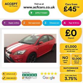 Ford Focus 2.5 ST-2 225 SIV 2010.25MY ST2 FROM £45 PER WEEK!