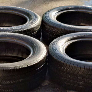 SELLING 4 USED MICHELIN P205/60R15 90S TIRES FOR $20 EACH!
