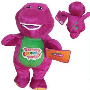 NEW High quality The Dinosaur Barney Sing song Purple Plush Soft Toy Doll 30cm