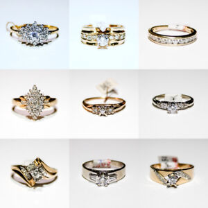 Diamond Rings for sale at GREAT PACIFIC PAWNBROKERS