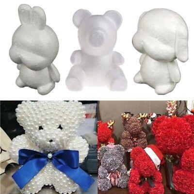 Polystyrene Styrofoam Foam Animal Modelling For DIY Craft Valentine Party Decor - Foam Animals