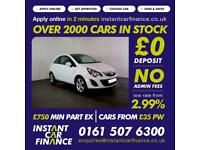 Vauxhall Corsa Sxi Ac Hatchback 1.2 Manual Petrol BAD / GOOD CREDIT
