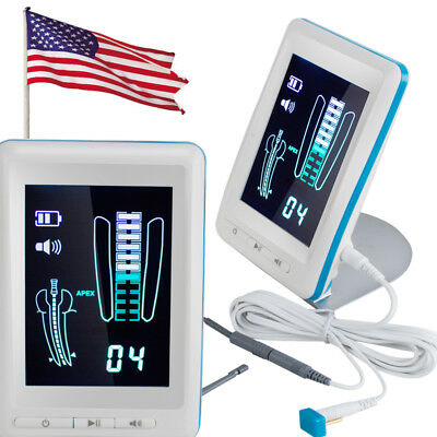 Usa Dental Endodontic Apex Locator Root Canal Finder Meter Color 4.5 Lcd Screen