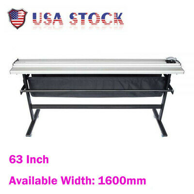 Usa Stock 63 Inch Manual Large Format Paper Trimmer Cutter With Support Stand