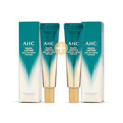 AHC Youth Lasting Real Eye Cream for Face Season 9 12ml 1+1 Brightening Wrinkle
