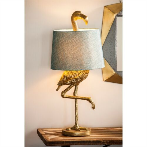 Flamingo Table Lamp Beach Tropical Decor