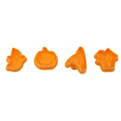 Halloween Theme Fondant Cake Mold Icing Cutters Plungers Cookie Cutter Baking W