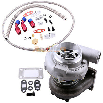 GT30 GT3037 GT3076 ANTI SURGE TURBO TURBOCHARGER WITH  OIL FEE</em>...