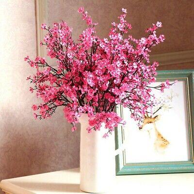 Artificial Gypsophila Fake Silk Bouquet Flowers Branch Home Wedding Party Decor ()