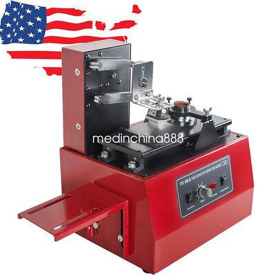 Electric Pad Printer Printing Machine Printing T-shirt Ball Pen Light Usa