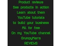 Free service to learn about different products/YouTube tutorials for business