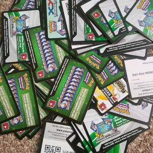 80 TCG online reward cards for online game