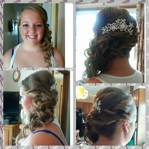 Travelling Hairstylist for bridal parties! London Ontario image 1