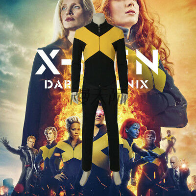 X-Men Dark Phoenix Wolverine Cyclops Cosplay costume Kostüm Uniform Outfit