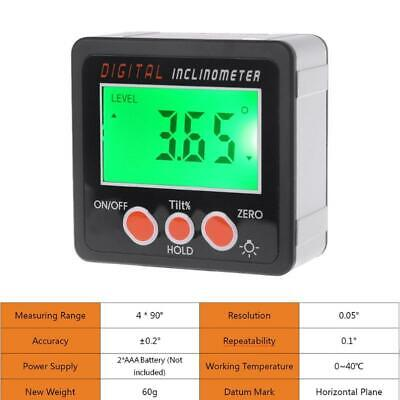 Digital Inclinometer Electronic Bevel Box Angle Gauge Meter Measuring Tool