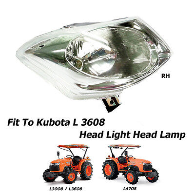 Use For Kubota Tractor L30083608 L4708 Head Light Head Lamp Assembly 1 Pc