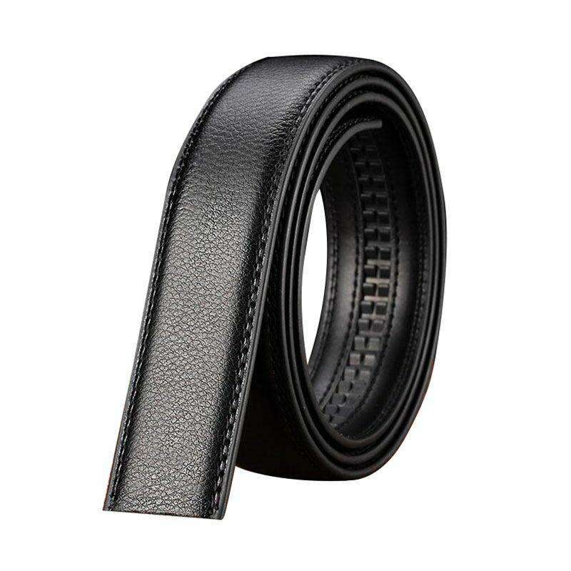 Men Classic Metal Automatic Buckle Ratchet Belt Buckle Replacement 4cm Width