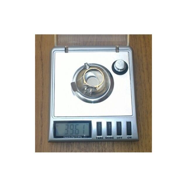 Digital Milligram Diamond Gram Jewelry Precision Weight Scale - 20g/0.001g