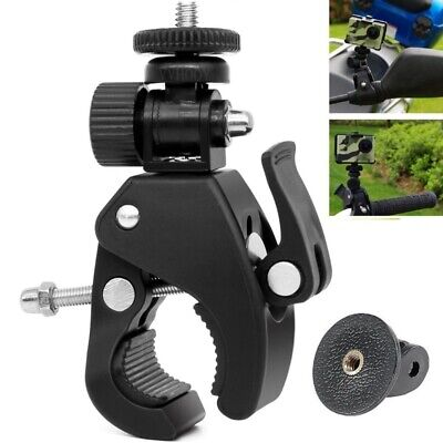 Bicycle Handlebar Clamp Mount Stand Holder For GoPro- Hero Camera Rotatable Cool