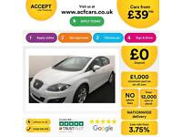 Seat Leon 1.6TDI CR ( 105ps ) 2012MY Ecomotive S Copa FROM £39 PER WEEK!